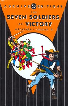SEVEN SOLDIERS OF VICTORY ARCHIVES VOL 2 HC