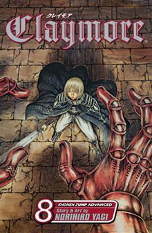 CLAYMORE GN VOL 08