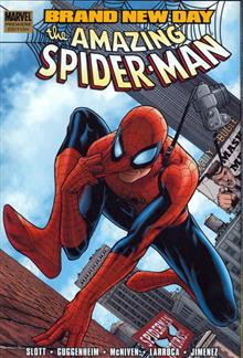 SPIDER-MAN BRAND NEW DAY VOL 1 PREM HC