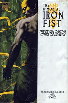 IMMORTAL IRON FIST PREM HC VOL 02 CITIES OF HEAVEN