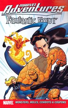 MARVEL ADVENTURES FANTASTIC FOUR VOL 8 TP DIGEST