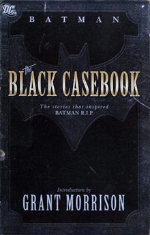 BATMAN THE BLACK CASEBOOK TP