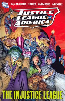 JUSTICE LEAGUE OF AMERICA VOL 3 INJUSTICE LEAGUE TP