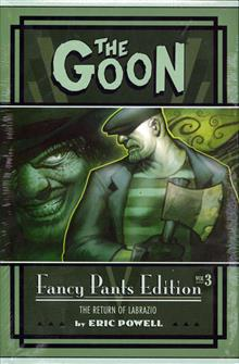 GOON FANCY PANTS HC LTD ED VOL 03 GOON YEAR