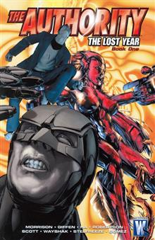 AUTHORITY THE LOST YEAR TP BOOK 01