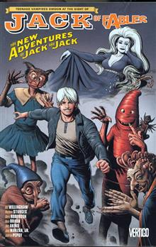 JACK OF FABLES TP VOL 07 NEW ADVS OF JACK & JACK