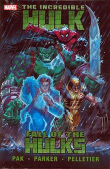INCREDIBLE HULK FALL OF HULKS PREM HC