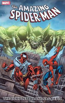 SPIDER-MAN COMPLETE CLONE SAGA EPIC TP BOOK 02