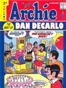ARCHIE BEST OF DAN DECARLO HC VOL 01