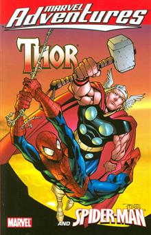MARVEL ADVENTURES THOR SPIDER-MAN DIGEST TP