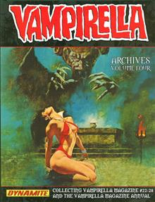 VAMPIRELLA ARCHIVES HC VOL 04