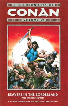 CHRONICLES OF CONAN TP VOL 22 REAVERS BORDERLAND