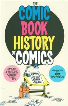 COMIC BOOK HISTORY OF COMICS GN