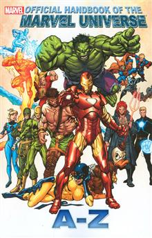 OFF HANDBOOK OF MARVEL UNIVERSE A TO Z TP VOL 05