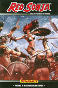 RED SONJA TP VOL 10 MACHINES OF EMPIRE
