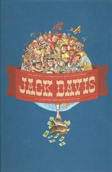 JACK DAVIS DRAWING AMERICAN POP CULTURE HC