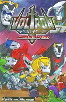 VOLTRON FORCE GN VOL 02
