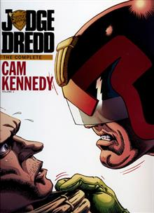 JUDGE DREDD CAM KENNEDY COLLECTION HC VOL 01