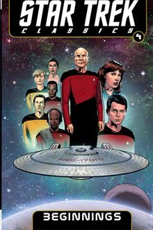 STAR TREK CLASSICS TP VOL 04 BEGINNINGS