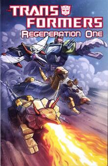 TRANSFORMERS REGENERATION ONE TP VOL 02