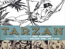 TARZAN RUSS MANNING NEWSPAPER STRIPS HC VOL 01 1967-1969