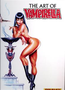 VAMPIRELLA ART OF HC