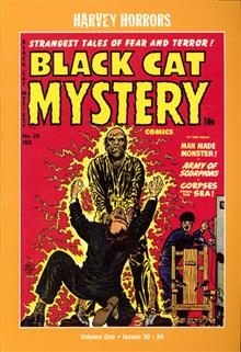 HARVEY HORRORS BLACK CAT MYSTERY SOFTIE TP VOL 01