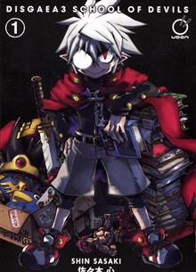 DISGAEA 3 SCHOOL OF DEVILS GN VOL 01 (OF 2)