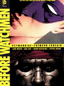 BEFORE WATCHMEN OZYMANDIAS CRIMSON CORSAIR TP