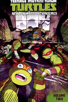 TMNT NEW ANIMATED ADVENTURES TP VOL 02
