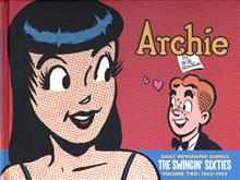 ARCHIE SWINGIN SIXTIES DAILY NEWSPAPER COMICS 1963