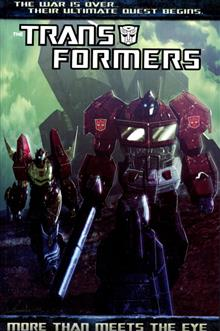 TRANSFORMERS MORE THAN MEETS THE EYE TP VOL 01 NEW