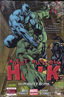 INDESTRUCTIBLE HULK PREM HC VOL 04 HUMANITY BOMB