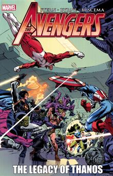 AVENGERS TP LEGACY OF THANOS