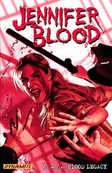JENNIFER BLOOD TP VOL 05 BLOOD LEGACY (MR)