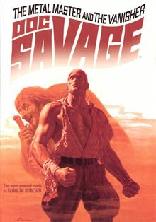DOC SAVAGE DOUBLE NOVEL VOL 28 BAMA VAR