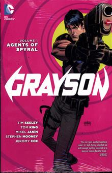 GRAYSON HC VOL 01 AGENTS OF SPYRAL (N52)