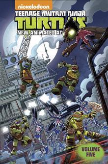 TMNT NEW ANIMATED ADVENTURES TP VOL 05