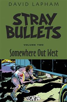 STRAY BULLETS TP VOL 02 SOMEWHERE OUT WEST (MR)