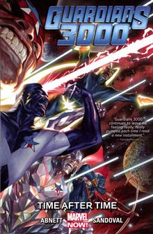 GUARDIANS 3000 TP VOL 01 TIME AFTER TIME