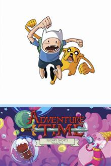 ADVENTURE TIME SUGARY SHORTS HC VOL 02