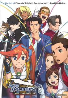 ART OF PHOENIX WRIGHT DUAL DESTINIES SC