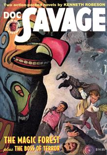 DOC SAVAGE DOUBLE NOVEL VOL 82 BOSS OF TERROR & MAGIC FOREST