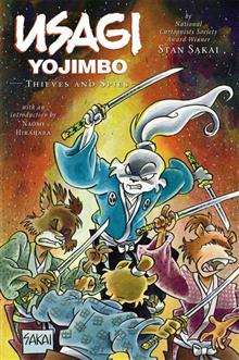 USAGI YOJIMBO LTD ED HC VOL 30 THIEVES AND SPIES