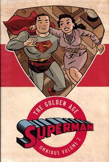 SUPERMAN THE GOLDEN AGE OMNIBUS HC VOL 02