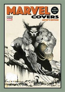 MARVEL COVERS MODERN ERA ARTIST ED HC KIETH CVR (NET)