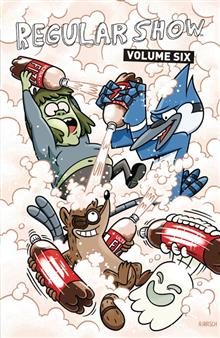 REGULAR SHOW TP VOL 06