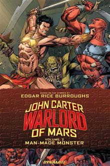 JOHN CARTER WARLORD TP VOL 02 MAN MADE MONSTER