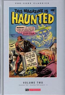 PRE CODE CLASSIC THIS MAGAZINE IS HAUNTED HC VOL 02