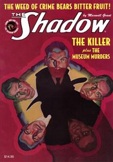SHADOW DOUBLE NOVEL VOL 107 KILLER  & MUSEUM MURDERS